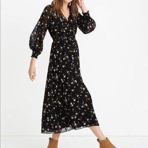 COPY - Madewell Floral Maxi Dress